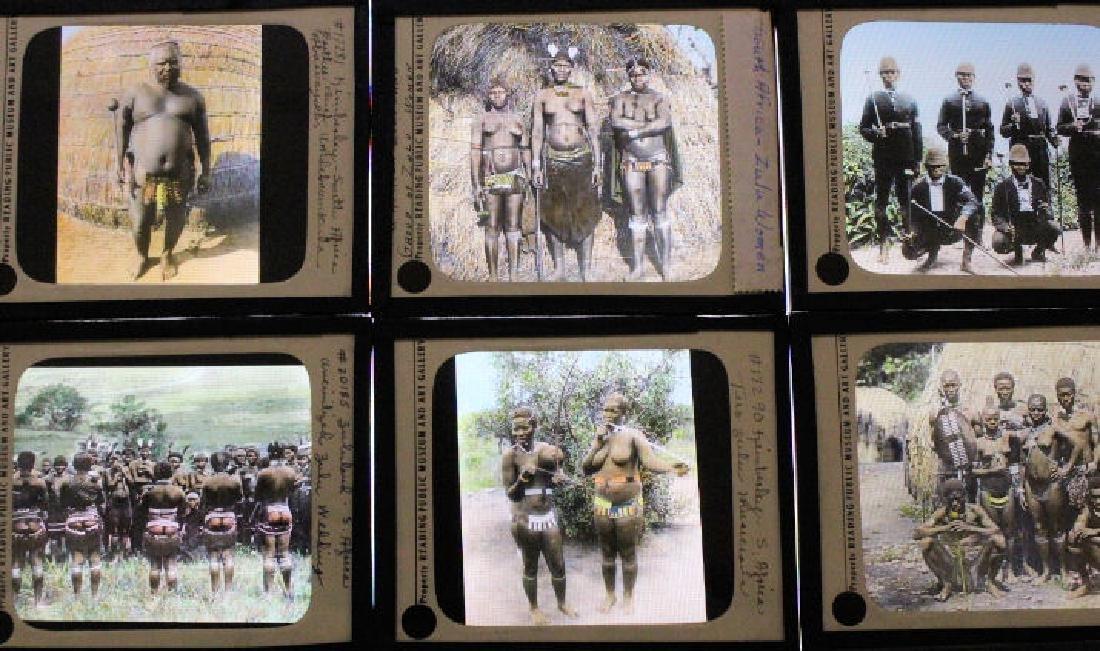 12 Lantern Slides - South Africa - Zulu - 2