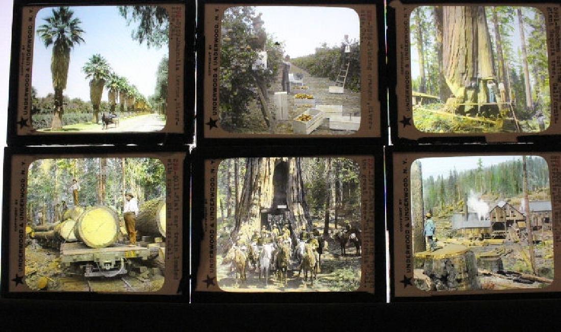 23 Lantern Slides - California