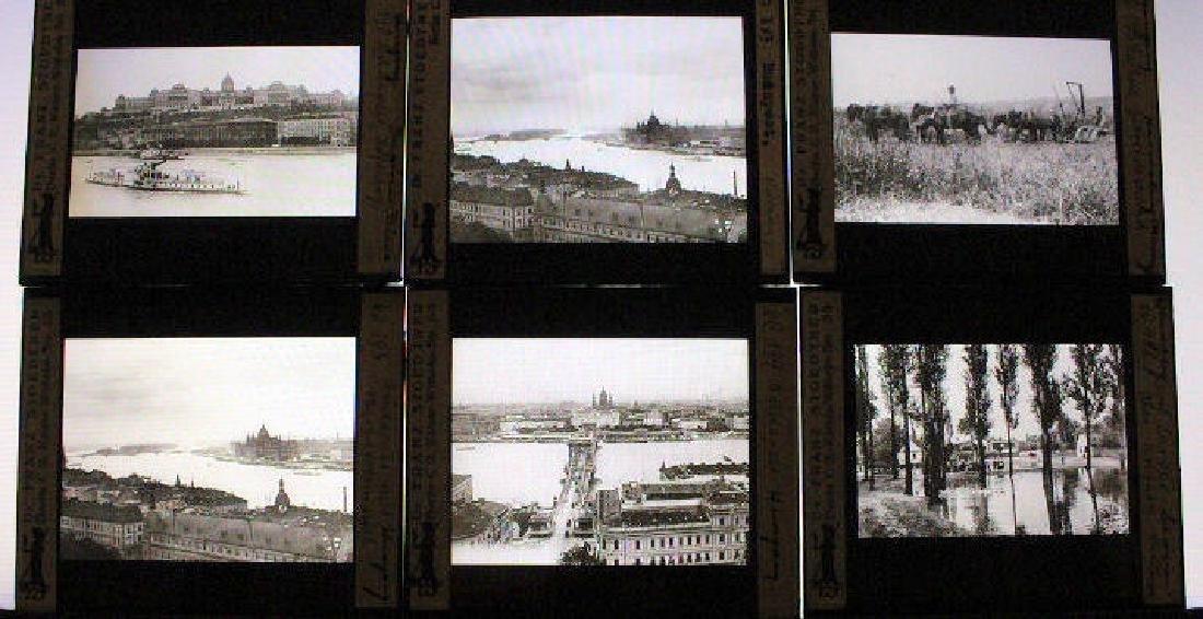 12 Lantern Slides - Hungary by Dr. Stoedtner