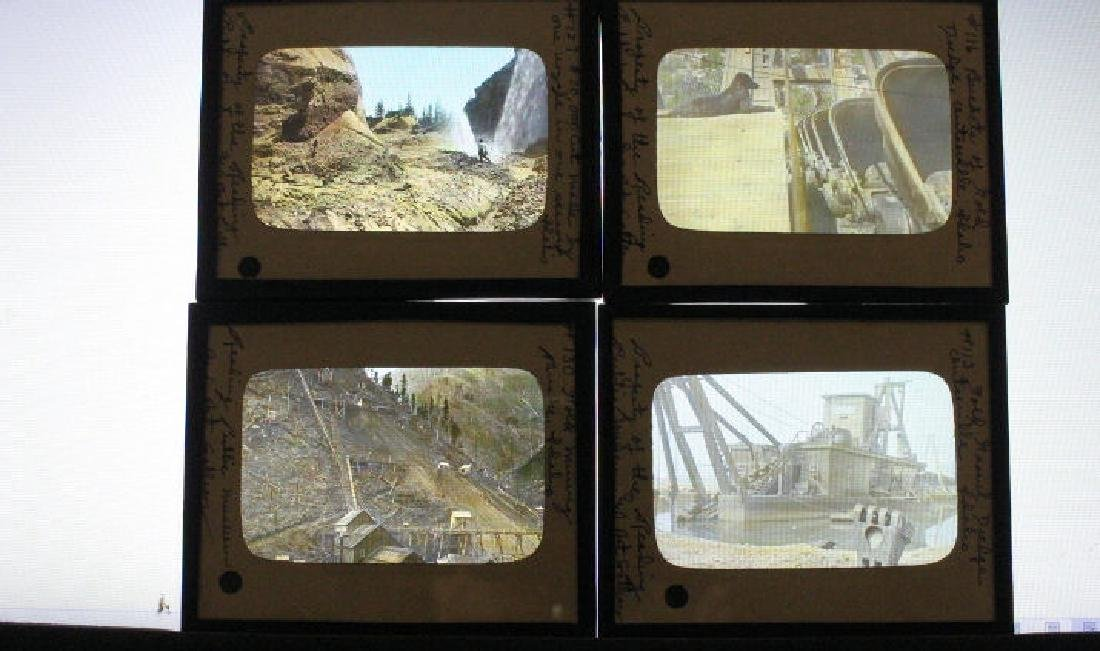11 Lantern Slides - Idaho Gold Mining Industry