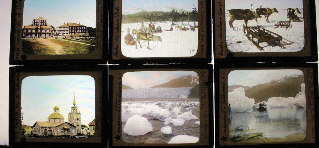 15 Lantern Slides - Alaska / Yukon / Canada
