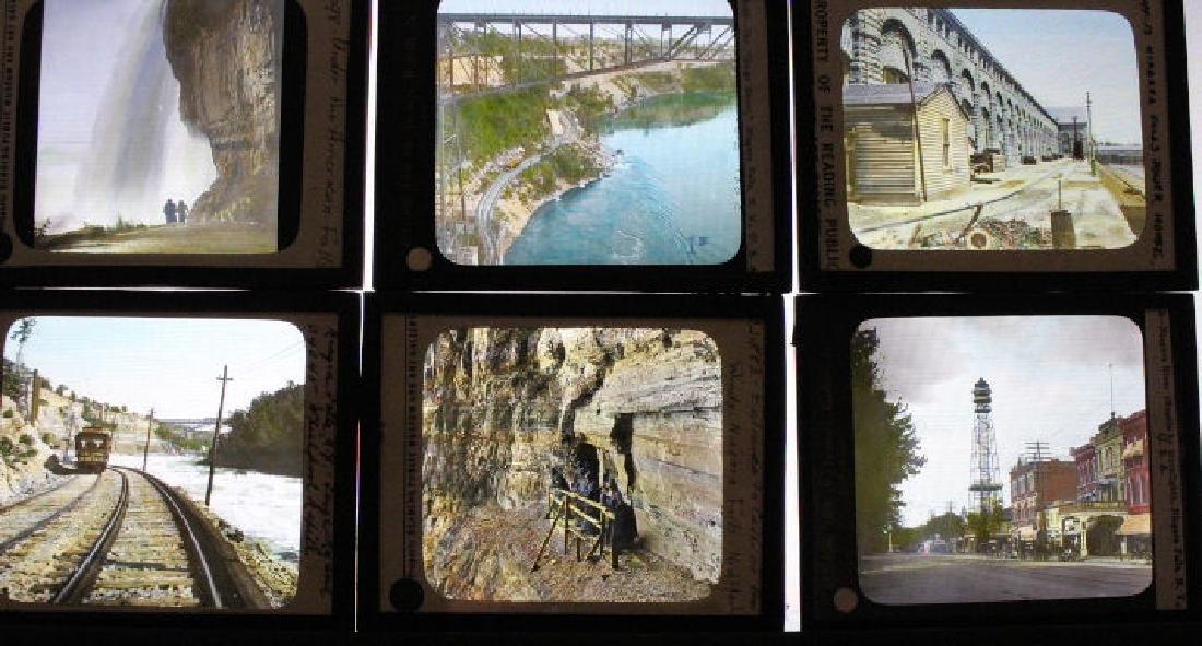 11 Lantern Slides - Niagra Falls