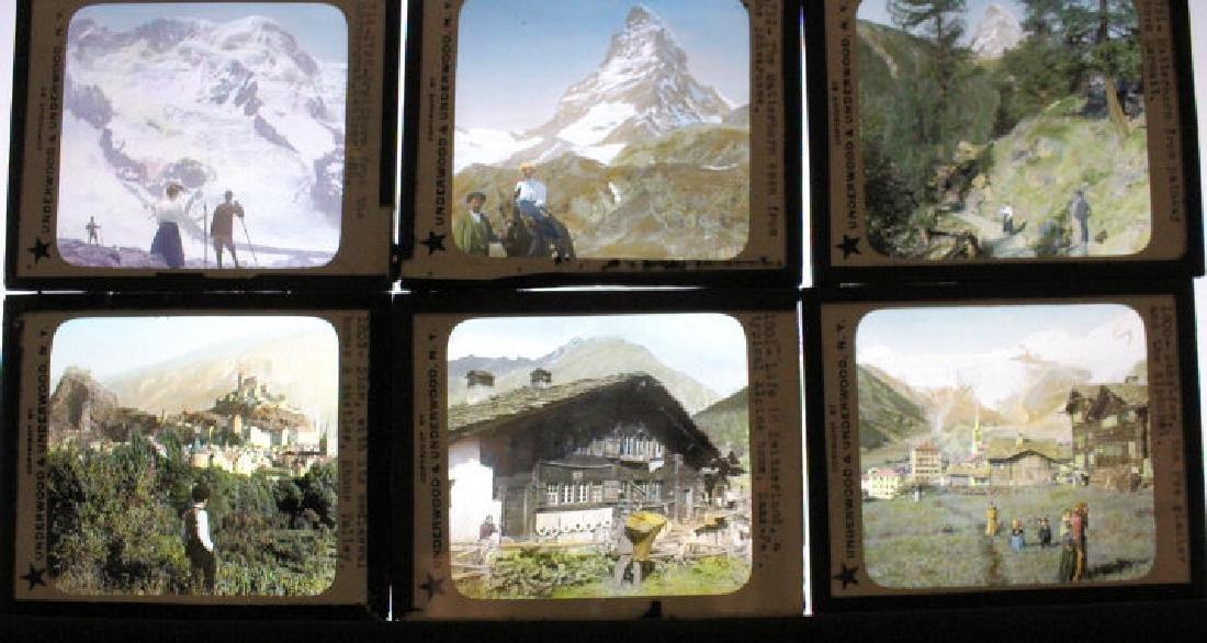 20 Lantern Slides - Switzerland
