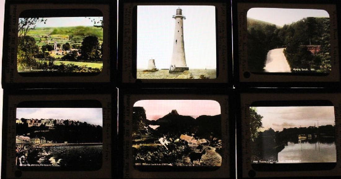 39 Lantern Slides - England