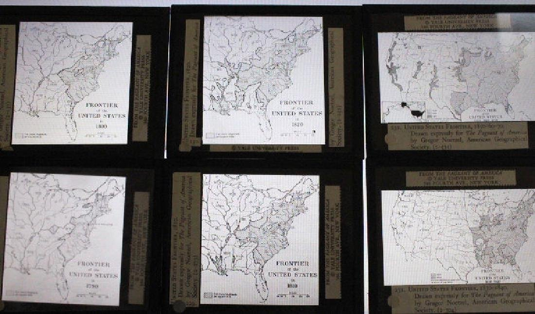 16 Lantern Slides Boxed Advancing Frontier Series