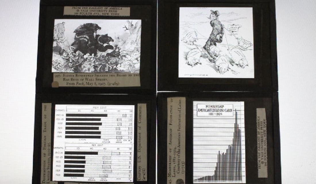16 Lantern Slides Boxed Advancing Frontier Series - 3