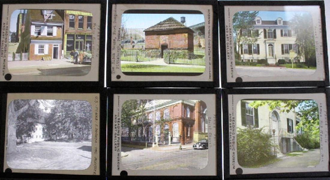 21 Lantern Slides - Pennsylvania Historical Bldgs