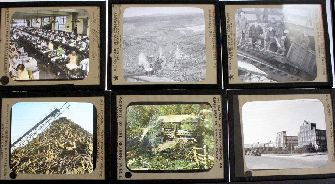 22 Lantern Slides - Pennsylvania