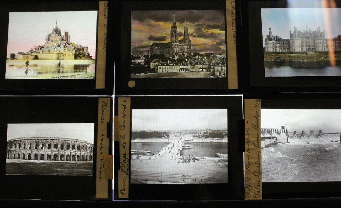 17 Lantern Slides - France
