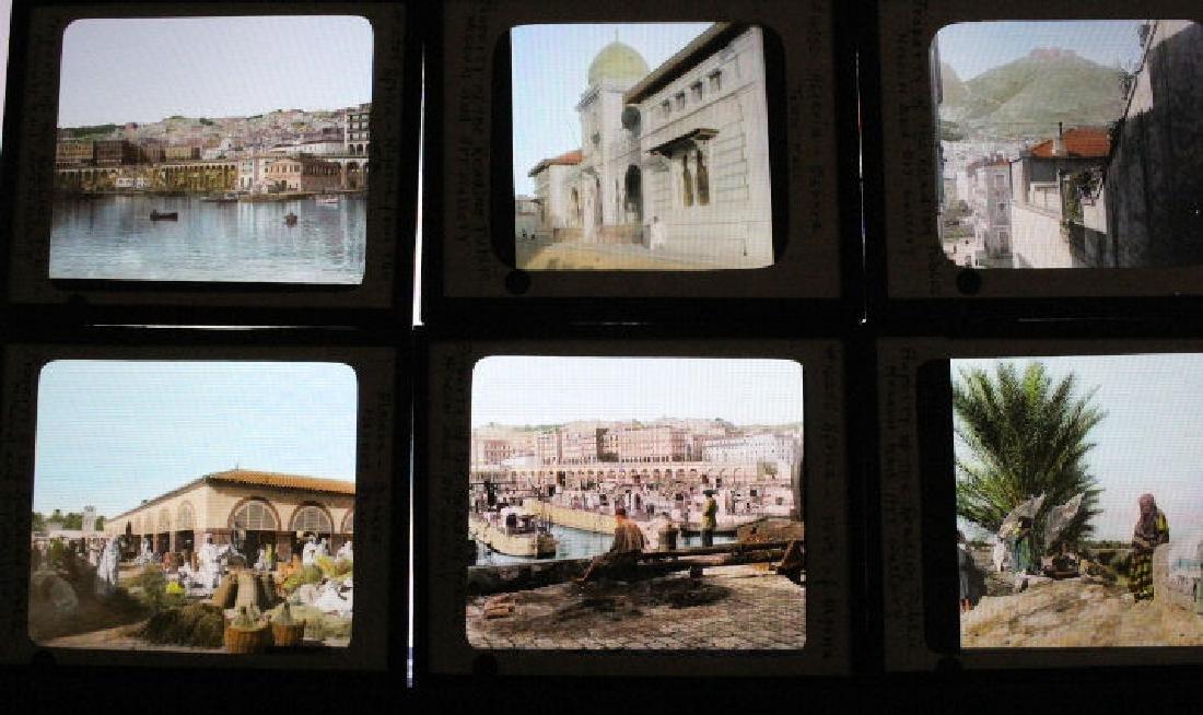 36 Lantern Slides - Algiers Africa