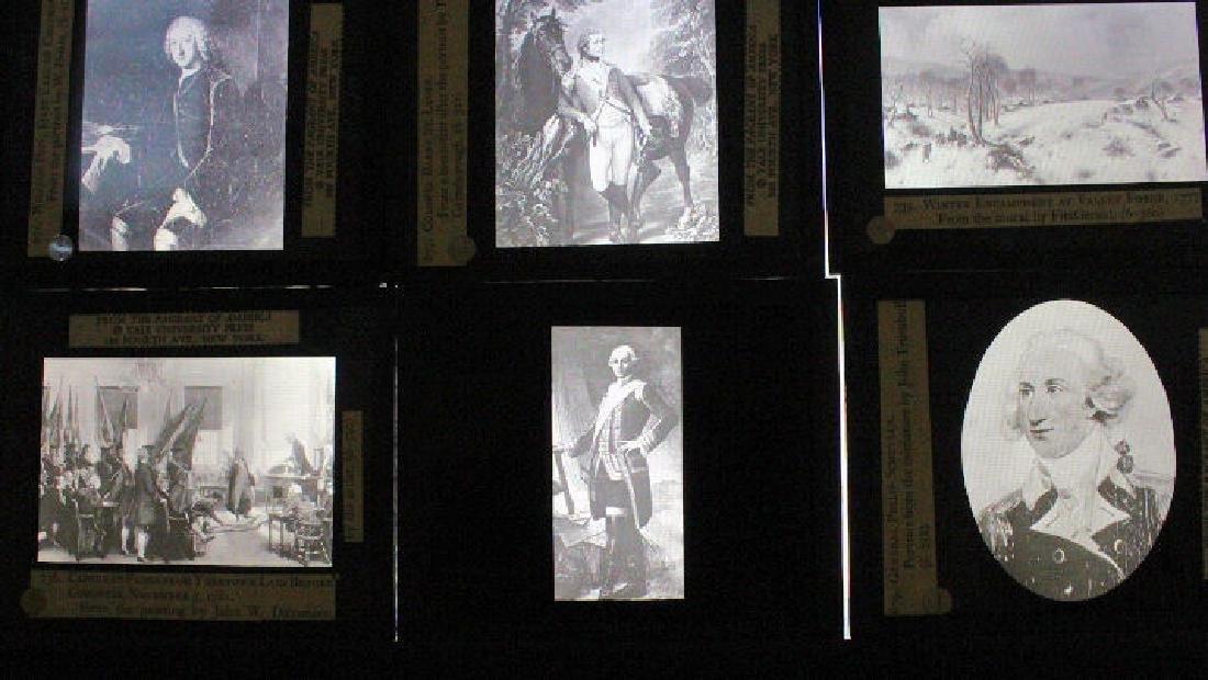 31 Lantern Slides - Boxed Series The Revolution - 3