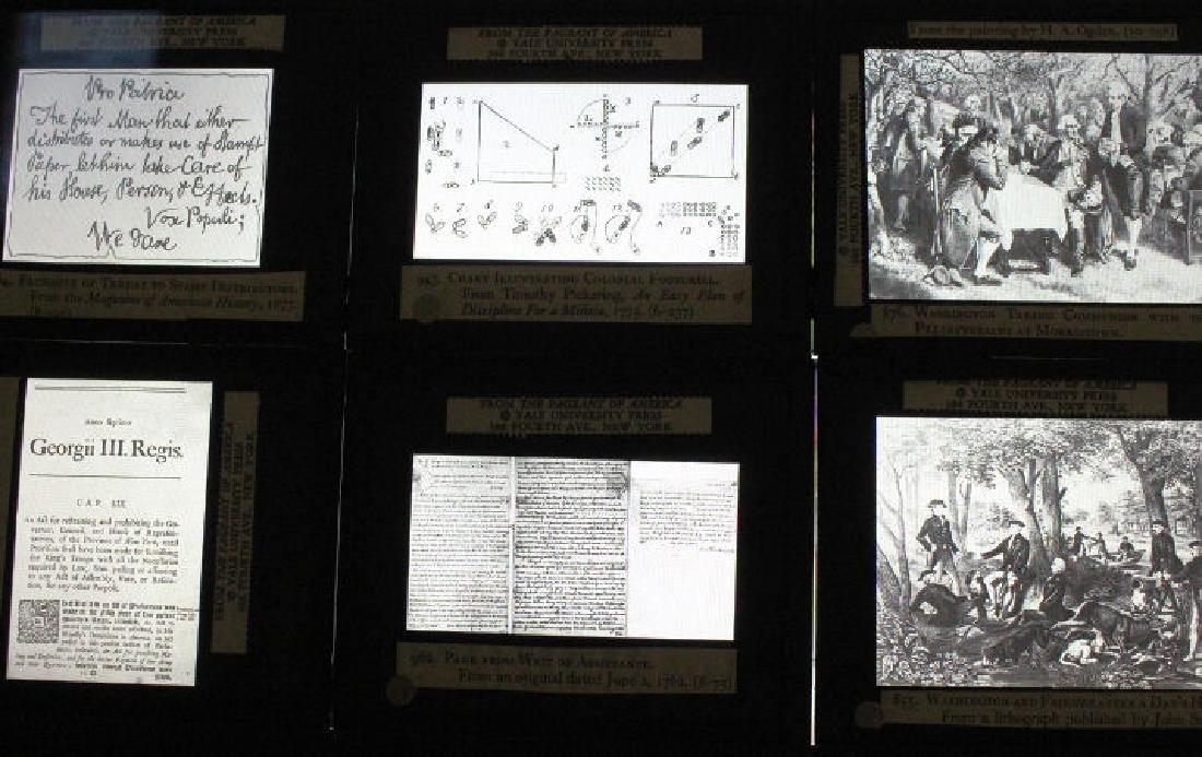 31 Lantern Slides - Boxed Series The Revolution - 4