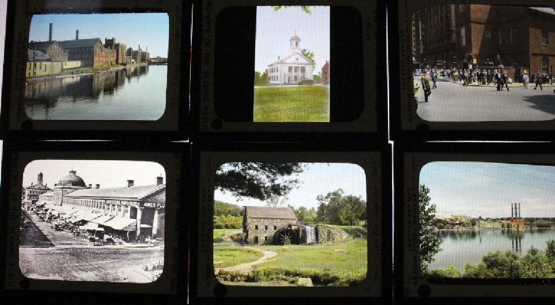 32 Lantern Slides - Massachusetts