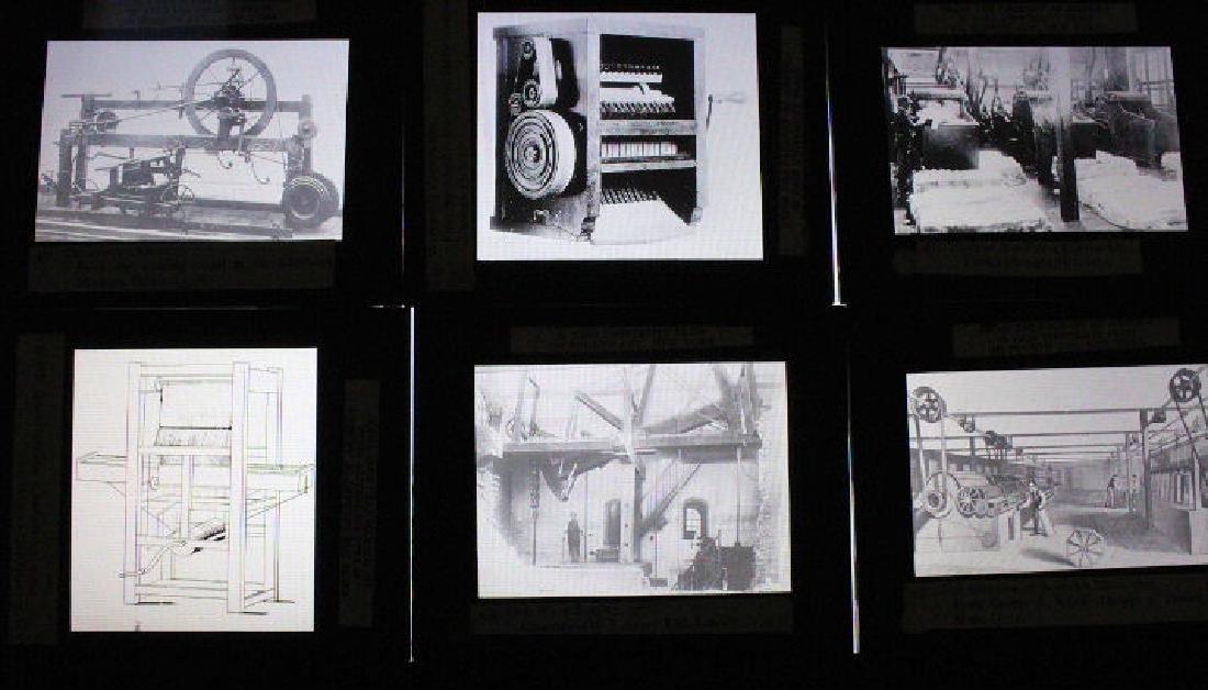 38 Lantern Slides - Boxed Series Story of Textiles - 2