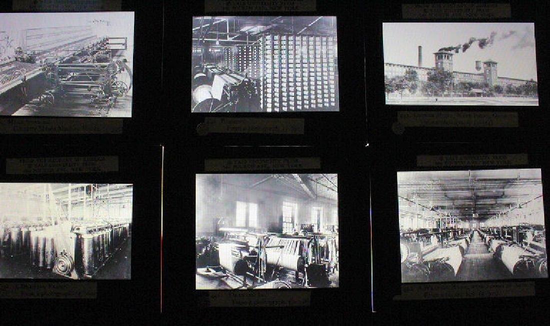38 Lantern Slides - Boxed Series Story of Textiles - 3