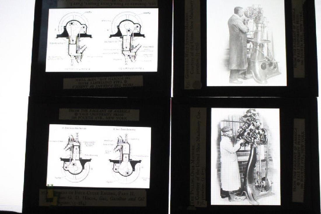 38 Lantern Slides - Boxed Series Story of Textiles - 7