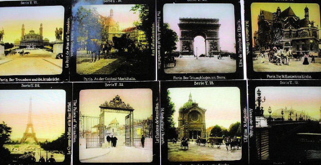 25 Lantern Slides - Europe Gifted by Dr. Livingood
