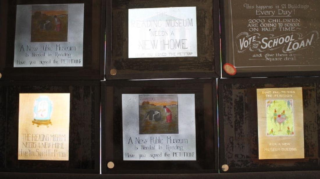 42 Lantern Slides - Reading PA Schools w/ Mengel - 2