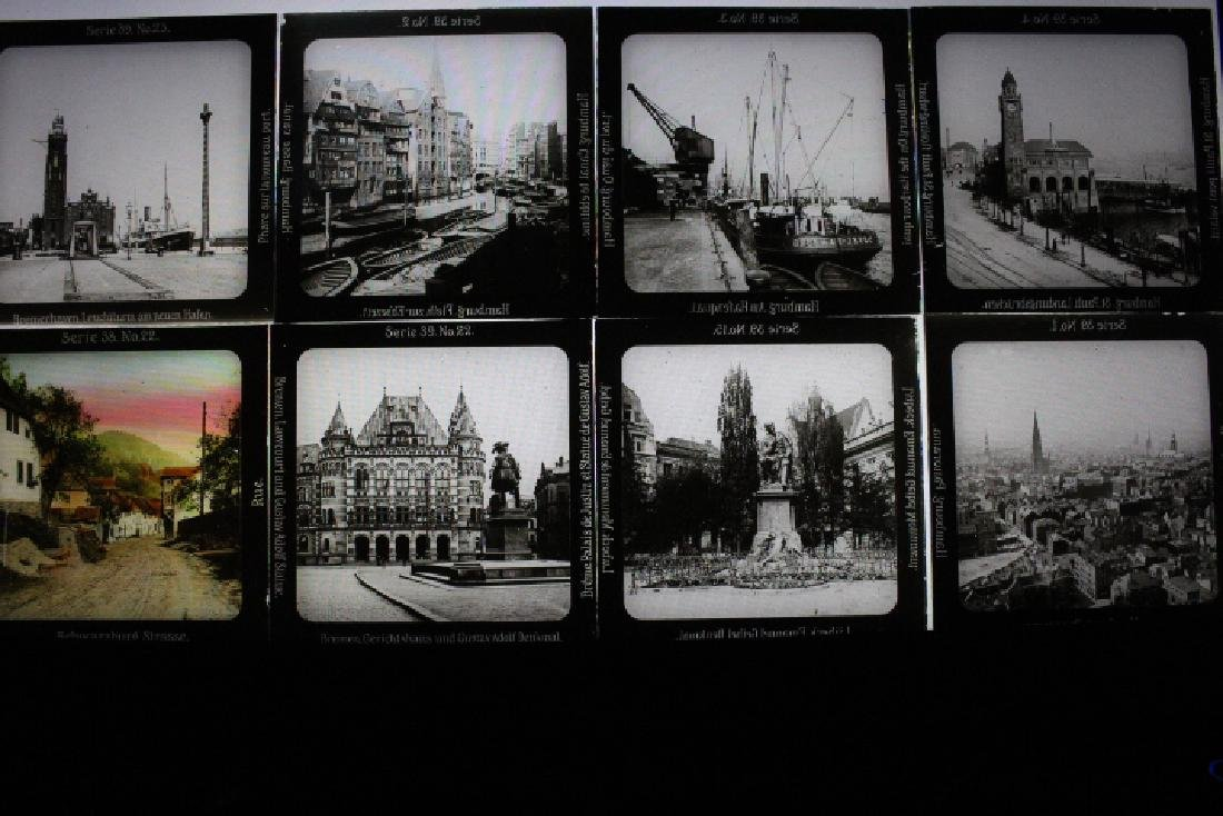 45 Lantern Slides - Europe Gifted by Dr. Livingood