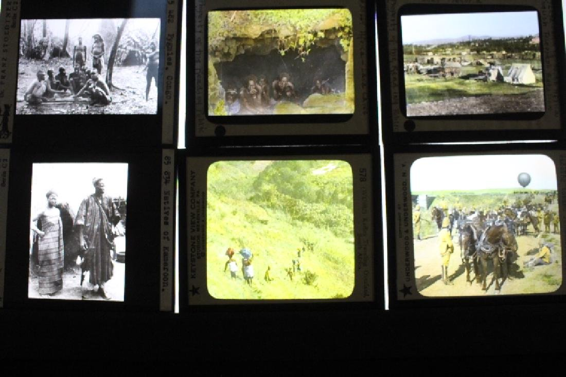 22 Lantern Slides - Congo Africa by Stoedtner