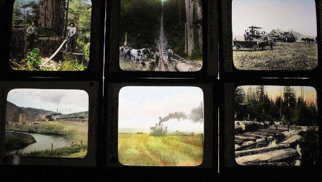 22 Lantern Slides - Oregon