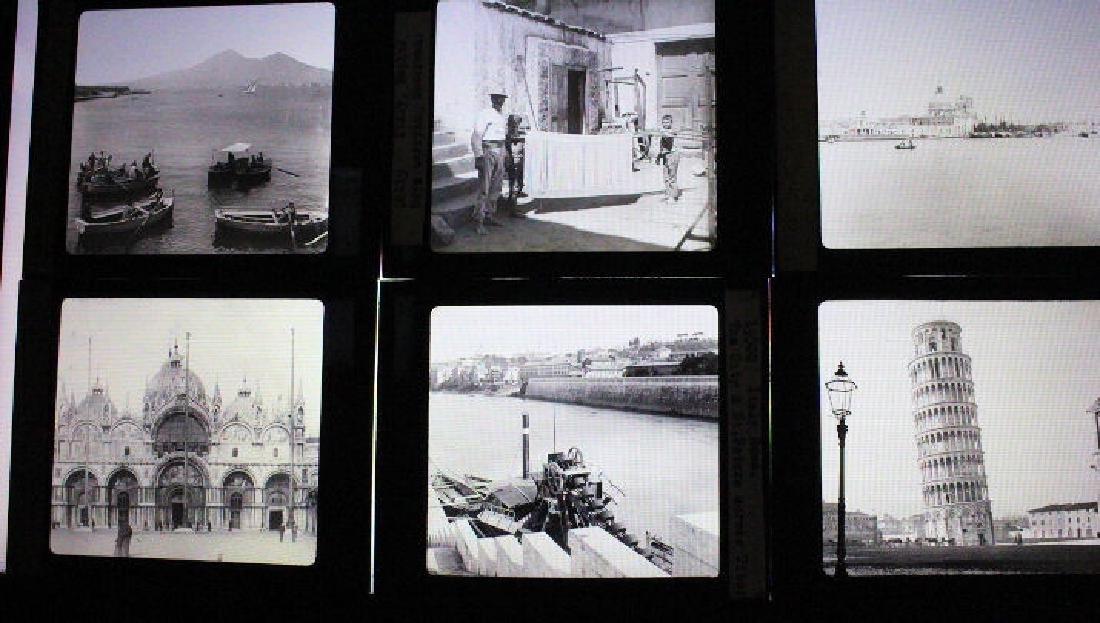 18 Lantern Slides - Italy by William H Rau