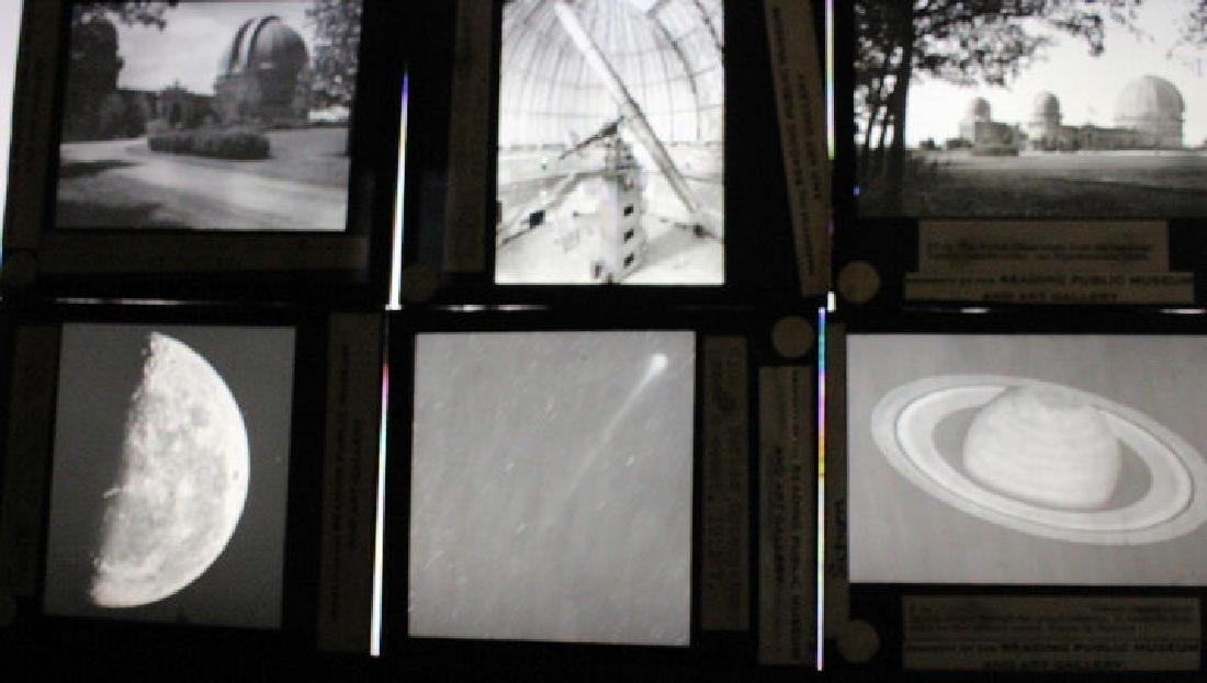 20 Lantern Slides - Observatories & Planets