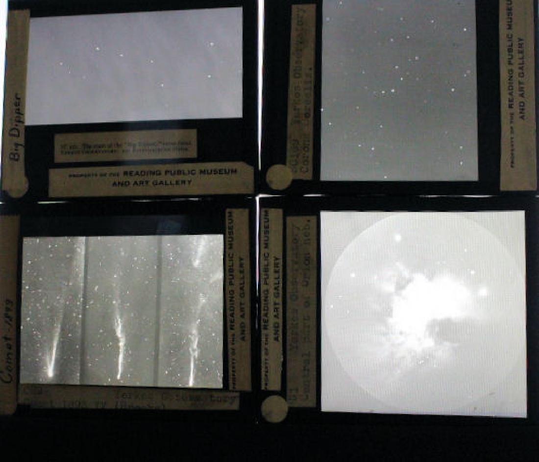 18 Lantern Slides - Observatories / Constellations