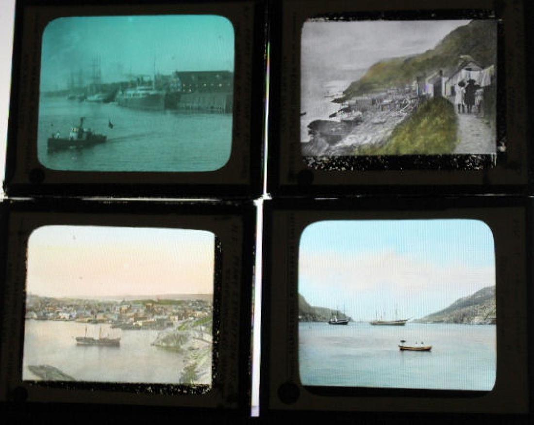 7 Lantern Slides - Newfoundland