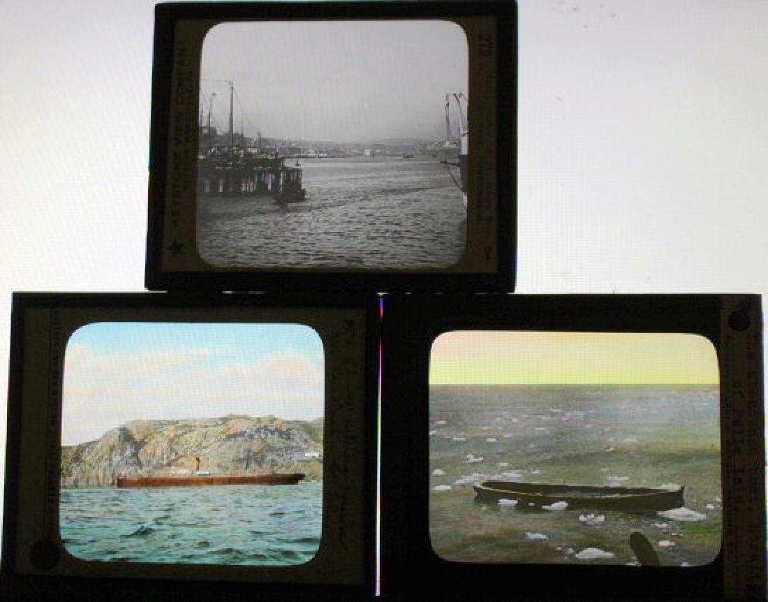 7 Lantern Slides - Newfoundland - 2