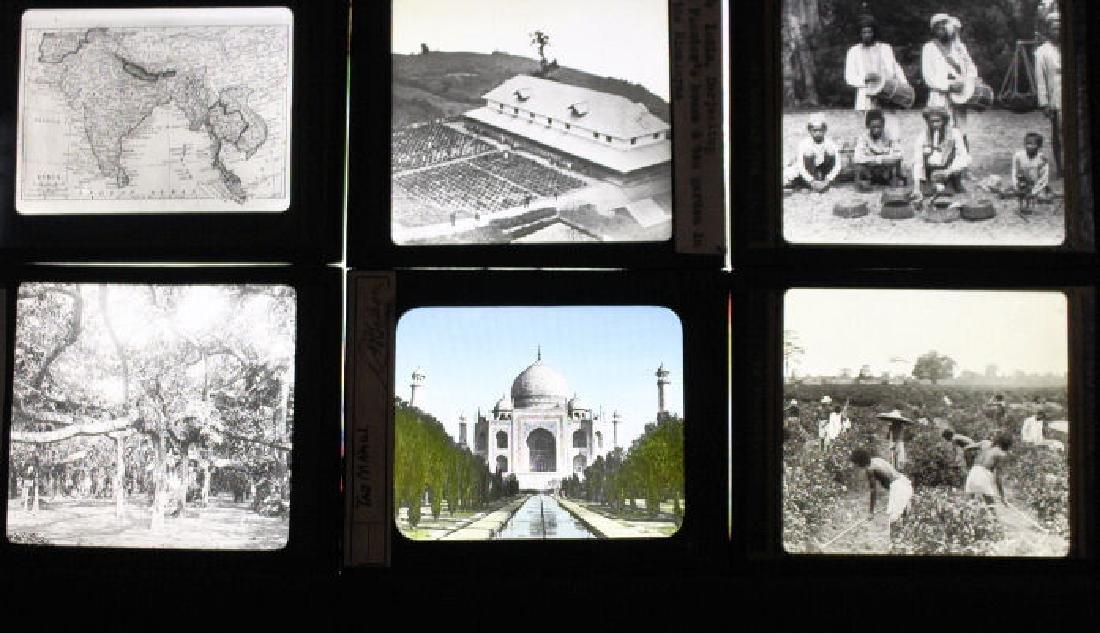 23 Lantern Slides - India William H Rau
