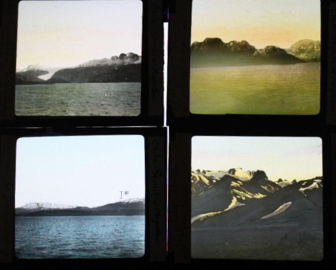 8 Lantern Slides - Chile