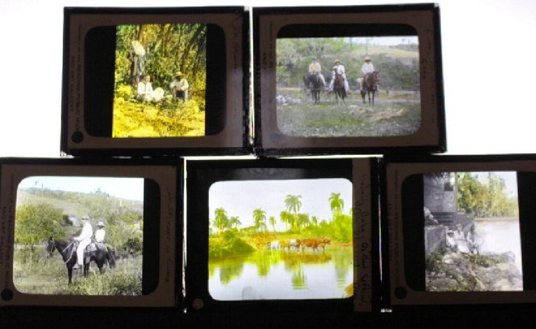 5 Lantern Slides - Cuba by Dr. Skinner