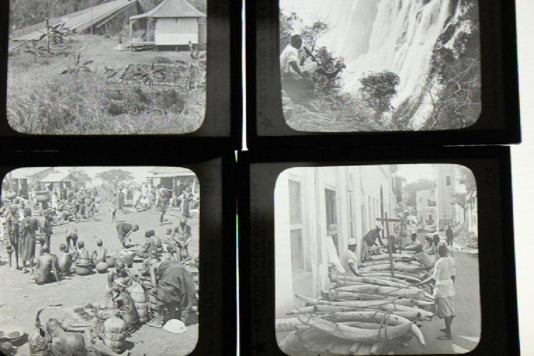 16 Lantern Slides - Africa / Congo
