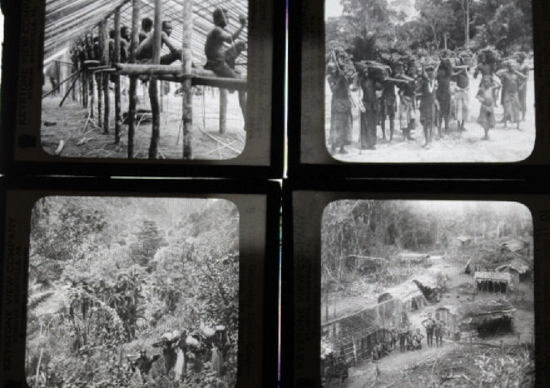 9 Lantern Slides - Africa / Congo
