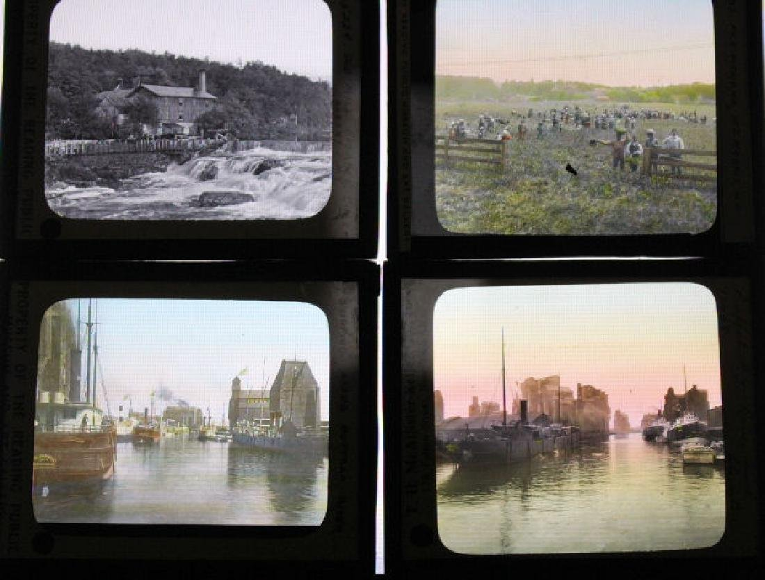 19 Lantern Slides - New York