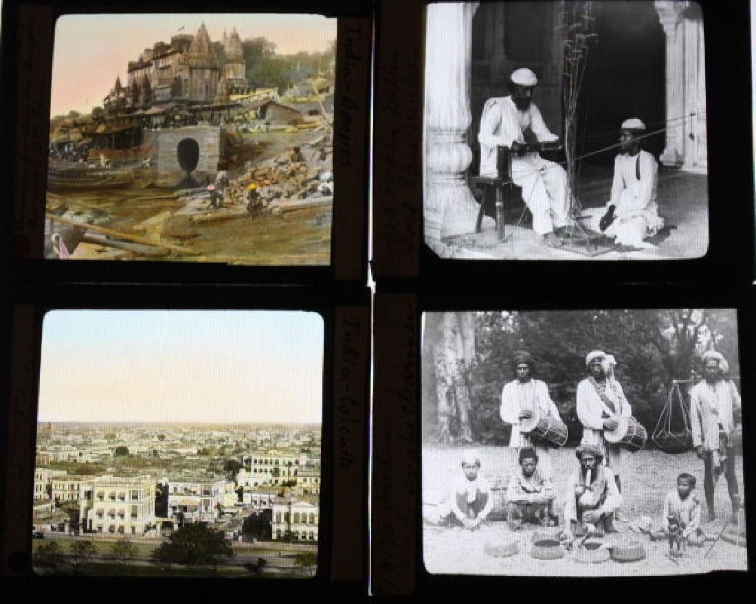 16 Lantern Slides - India by William H Rau