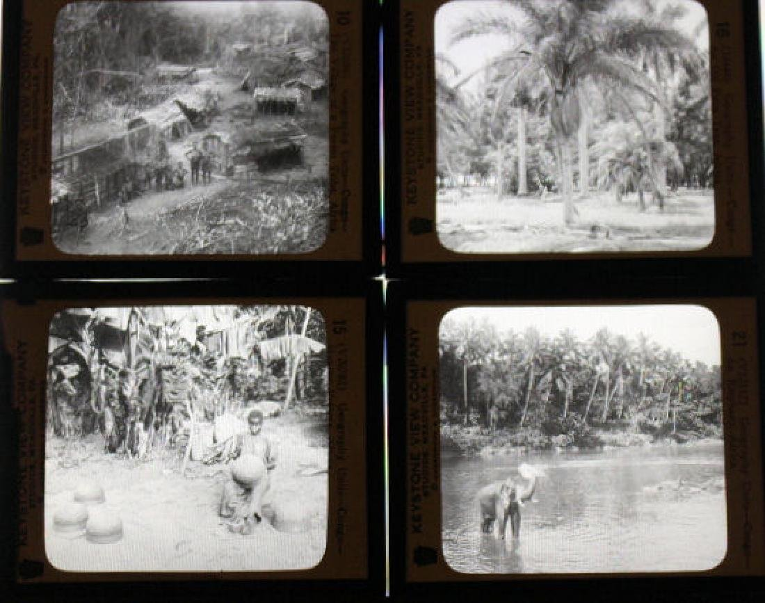 12 Lantern Slides - Africa Congo