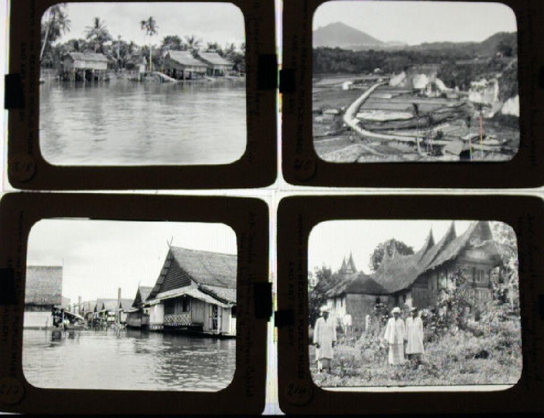 17 Lantern Slides -Sumatra / Indonesian Island