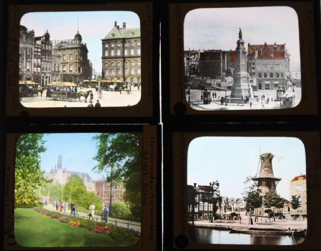 16 Lantern Slides - Amsterdam Holland