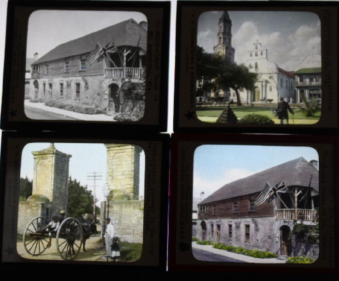 8 Lantern Slides - St. Augustine Florida