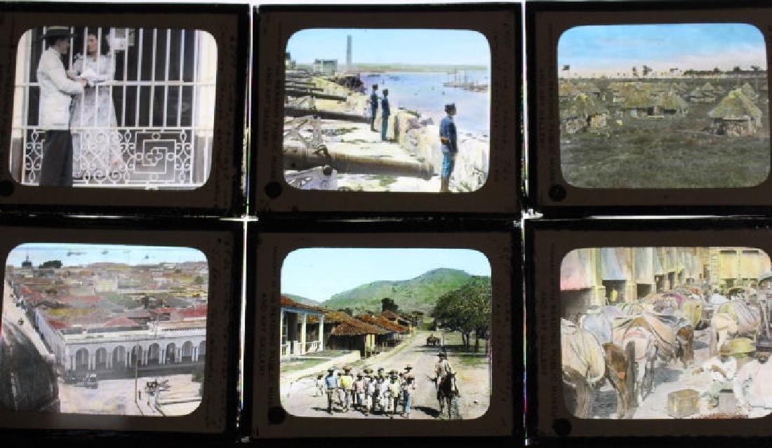 15 Lantern Slides - Cuba