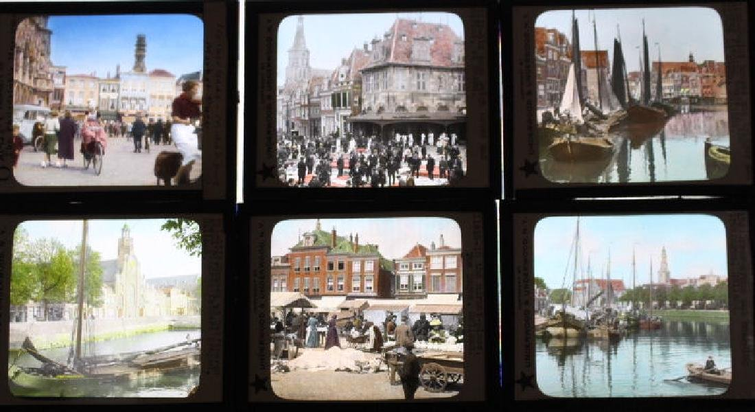 20 Lantern Slides - Holland Netherlands