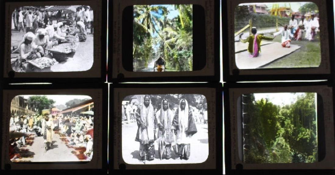 13 Lantern Slides -  Sumatra / Indonesian Island