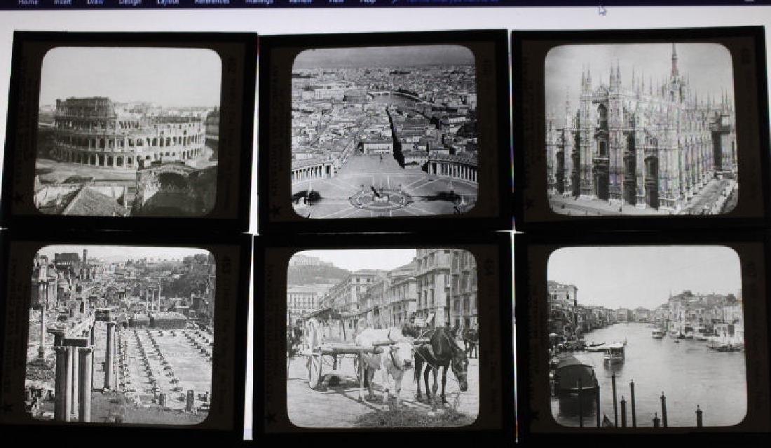 24 Lantern Slides - Italy