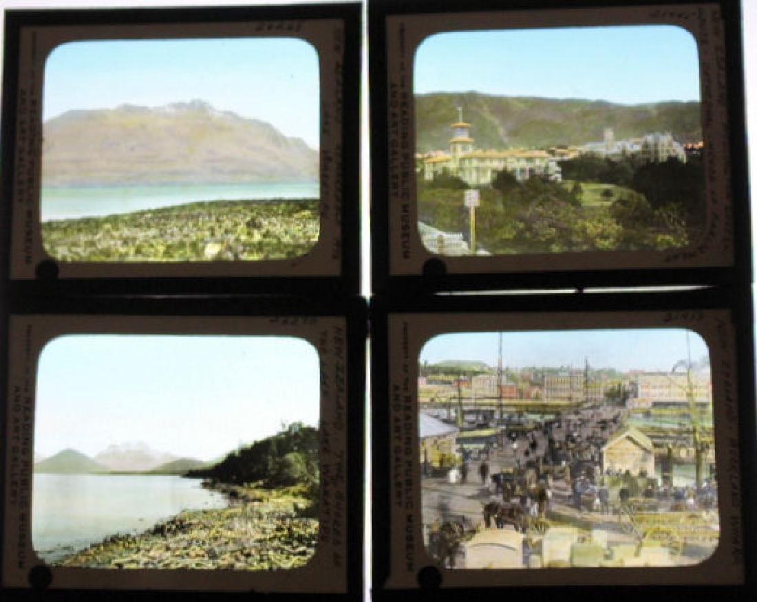 7 Lantern Slides - NewZealand