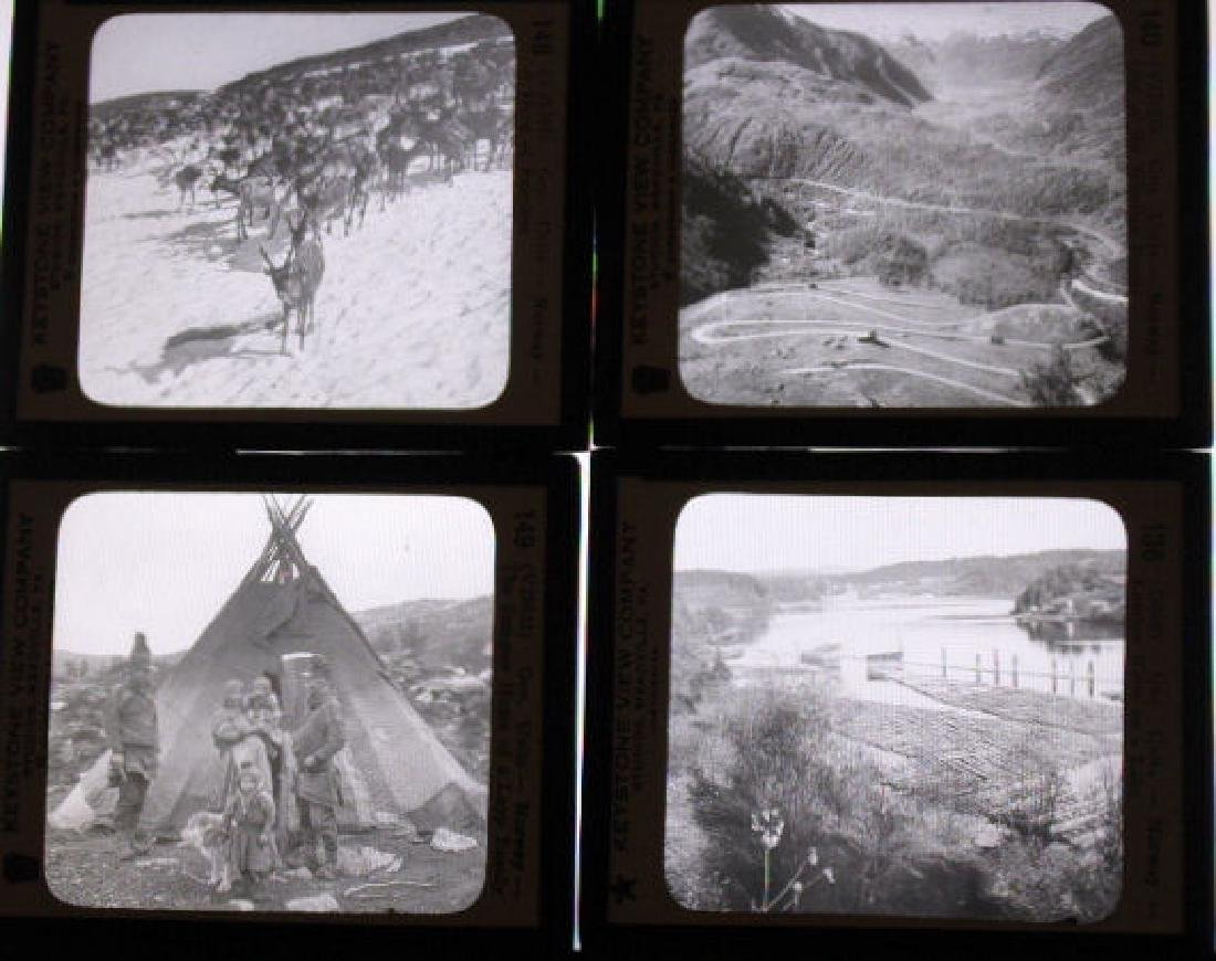 25 Lantern Slides - Norway