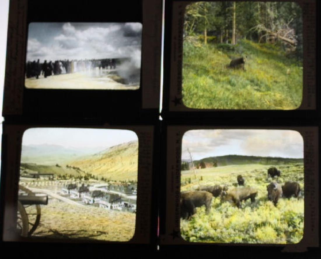 12 Lantern Slides - Wyoming