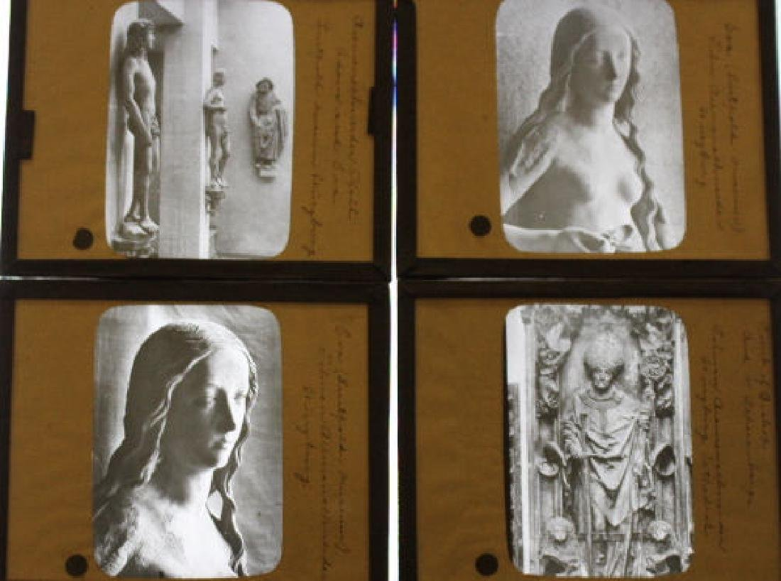 41 Lantern Slides - Art Sculptures