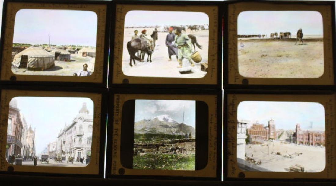 6 Lantern Slides - Tibet